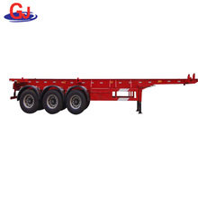 40ft Flat Deck Container Trailer