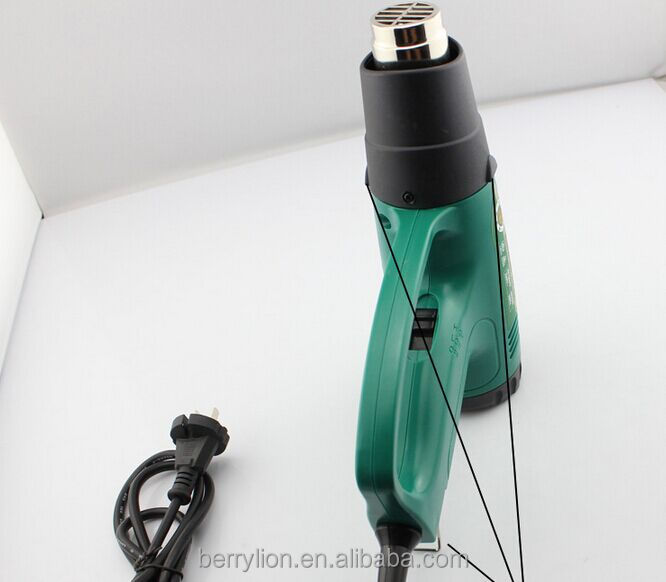 Berrylion High Temperature 2000W Heat Gun Digital Display Hot Air Gun