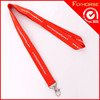 Simple design oem printed polyester lanyard for promotion