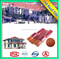 Good Quality Synthetic Resin Roof Designer Tiles