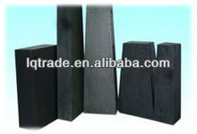 Steel ladle magnesia carbon block refractory bricks