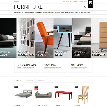 e-commerce website design for online store