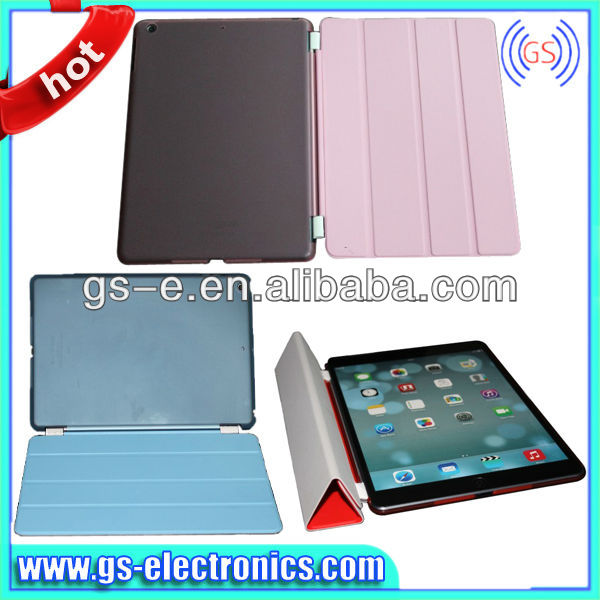 screen protector case for ipad air 5 ,protective flim for ipad air ,smart case+ clear back cover For ipad air