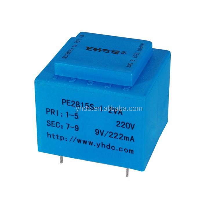 220 volt 24 volt encapsulated transformer YHDC