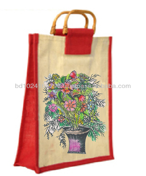 MADHOBI JUTE SHOPPING BAG