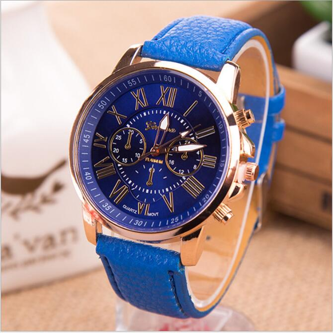 T&J-3118-1 wholesale 2015 latest fashion knitting geneva vogue fancy lady watch