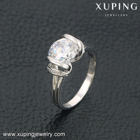 13813 xuping fashin jewelry luxury latest women gold finger ring designs