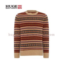 Men'S Long Sleeve Pullover Chunky Knit Korean Sweater