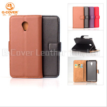 High quality custom slim PU Leather smartphone case for Meizu Note 2