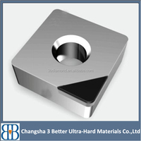 High efficient CBN insert / pcd insert/ pcbn insert for cutting tools