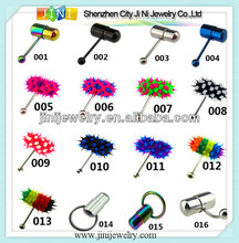 cheap piercing vibrating tongue rings