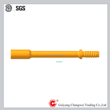 thread rock drilling guide rod