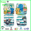 happyflute reusable diaper washable cloth pocket diaper factory sale digital position print
