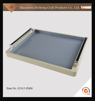 Acrylic material cheap price decorative acrylic service tray