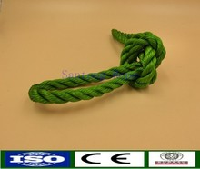 Good abrasion resistance and floating buoyancy PE rope