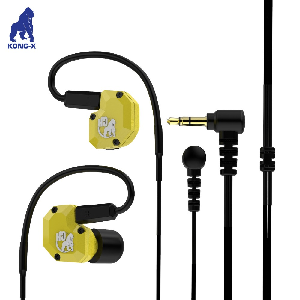 universal use mobile phone computer mp3/mp4 use high quality stereo wired sure sport earphone