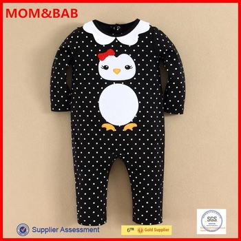 mom and bab 2015 Wholesale Embroideried Romper Girls