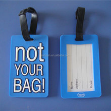 Cool NOT YOUR BAG luggage tag
