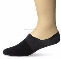 men and lady cotton non slip no show invisible seamless toe closure socks