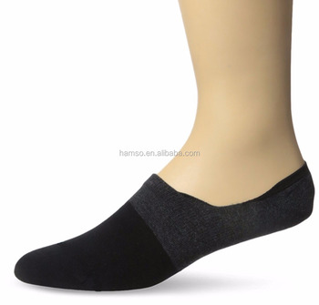 men and lady cotton non slip no show invisible seamless toe low cut socks
