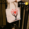 High quality custom printed cotton bag,cotton canvas bag, canvas tote bags,