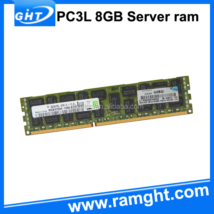 Server type and REG ECC Function ETT chips 1333mhz ddr3 8gb ram memory