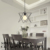 linear suspension metal string lights pendant lamp