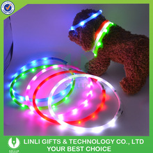 Pet Accessories Led Pet Collar with Flashing Dog Collar