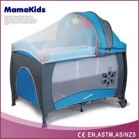 high quality luxury adjustable baby princess bed with canopy