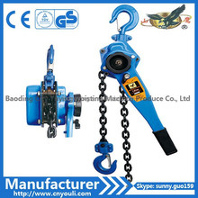 small manual overhead crane HSH-C type 1.5ton lever hoist