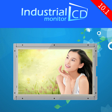 Cheaper 10.1 inch 1024*600 open frame LCD monitor 10.1 inch widescreen industrial TFT Used LCD monitor