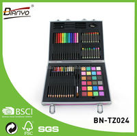Portable wholesale school pencil case /stationery paint Set