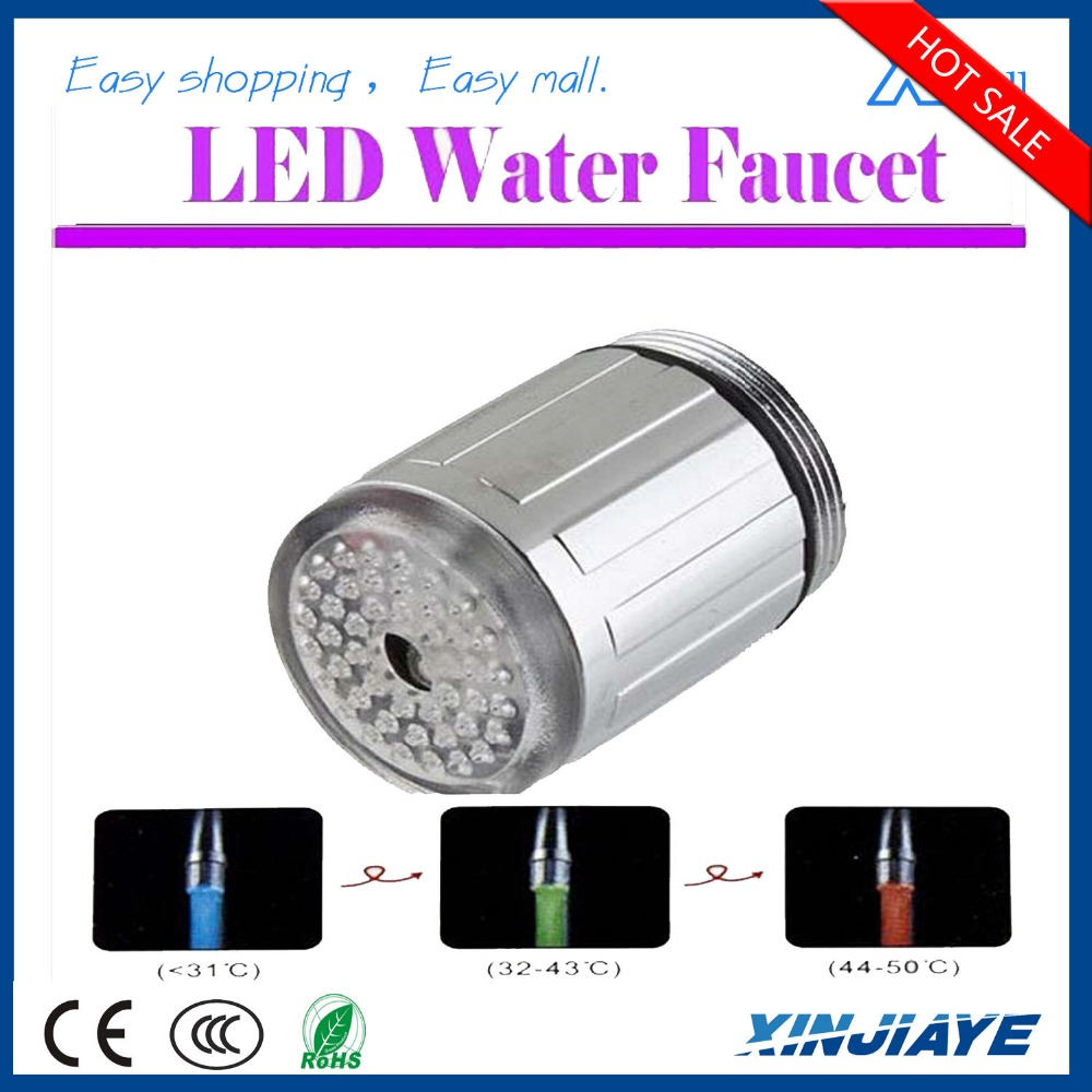 Factory price Faucet Manufacturer LED Light Bathroom Water Tap/Mixers Automatic Colors Temperature Change