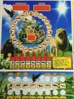 Africa popular mario slot machine for sale / indoor table top slot game machine / animal mario game 1 coin 1 point