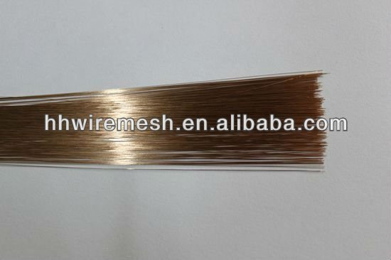 Straightened cut wire & cut wire