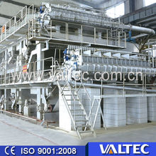 Variable Frequency Control,Sectional Drive. double cylinder and dryer burnning paper making extraction machine