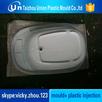 household plastic bathroom washing basin mould