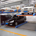 Two level underground car lift garage parking equipment