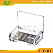 JLP clear acrylic cigarette box making,box mod electronic cigarette