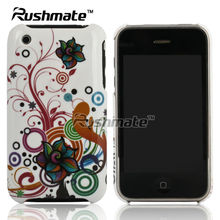 Bubble Flower Hard Design Mobile Phone Back Cover Case For Apple iphone 3G 3GS