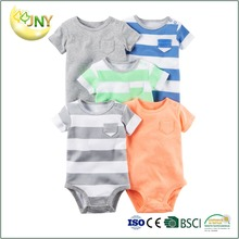100% Cotton plain boys baby grows bodysuit
