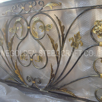 Nice Quality Protection Wrought Iron Balcony