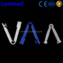 Disposable sterile umbilical cord clamp for newborn use