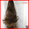 YASHI 2016 new fashion long curly wavy hair extensions for women and girls