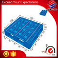 Heavy duty 1200*1000 vented cross-steel reinforced plastic pallets