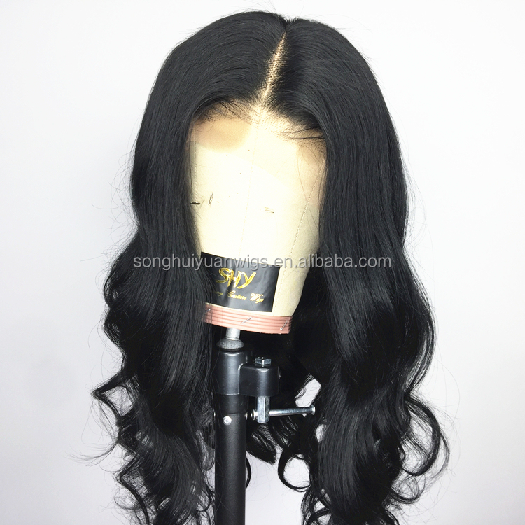 Glueless Body Wave Full Lace Wig Pre-plucked Human Hair Wigs Wholesale