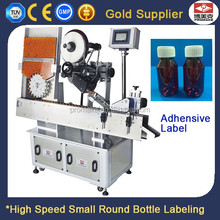 Automatic Small Bottle Sticker Label Printing Machine