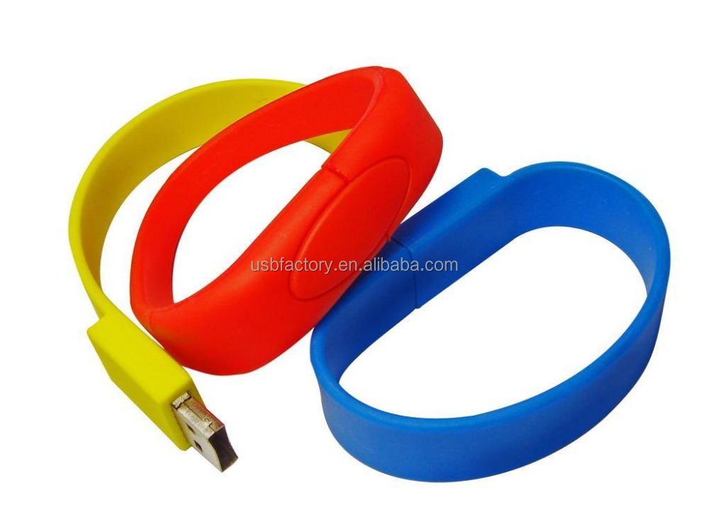 Rubber armband thumb drives, medical id bracelet usbs, 2014 New! Silicon/Rubber Bracelet Usb Wristband Usb Memory Sticks