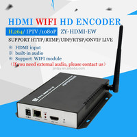 H.264 HD HDMI Encoder for IPTV Support wireless translate