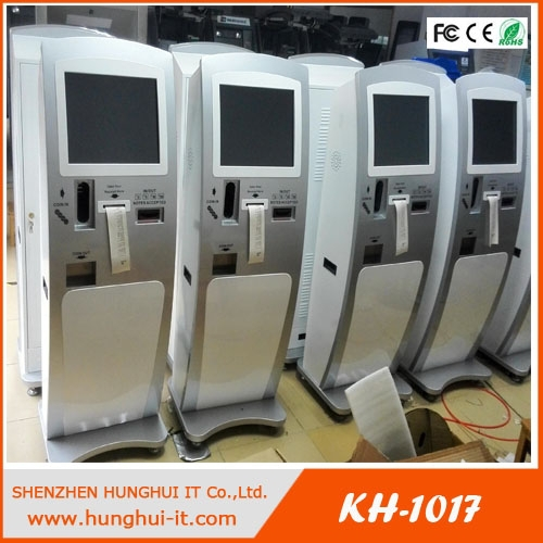 19inch touch screen all in one <strong>payment</strong> kiosk/cash&bill <strong>payment</strong> kiosk